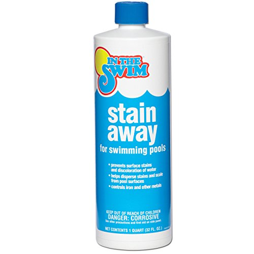 Iron Swimming Pool - In The Swim Pool Stain Away Pool Stain Remover - 1 qt.