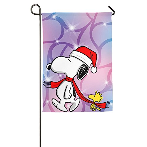 garden-flags-merry-christmas-funny-snoopy
