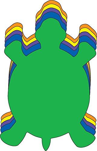 Turtle Large Assorted Color Creative Foam (Turtle Cut Out Design)