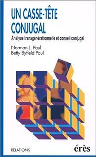 Un casse-tête conjugal par Norman L. Paul