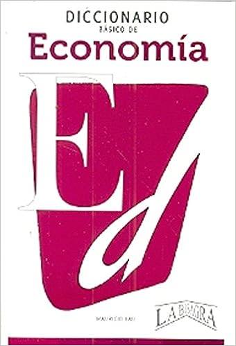 Book Diccionario básico de economía