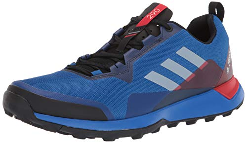 adidas outdoor Men's Terrex CMTK Trail Running Shoe Blue Beauty/Grey ONE/Active RED 15 D US