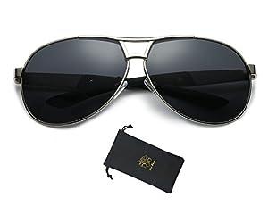Red Peony Mens Womens Polarized Aviator Sunglasses Fashion Sports Sunglasses AORON Design