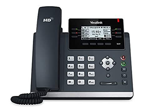 Yealink Ultra-Elegant IP Phone SIP-T41P PoE, Power Supply Not Included - Sip Business