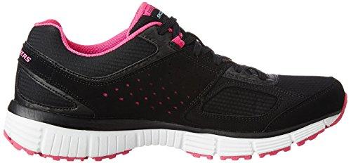 Skechers Agility-Ramp Up, Zapatillas de Deporte para Mujer BKHP