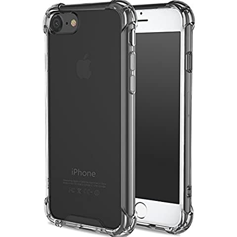 iPhone 7 Plus Case, ibarbe for Apple iphone 7 Plus Crystal Clear slim fit Shock Absorption Bumper Heavy Duty Protection Soft TPU Cover Case for iphone 7 Plus 5.5 Inch (Bling Bluetooth Headset)