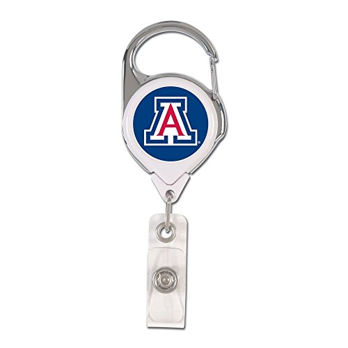 Wincraft NCAA University of Arizona Retractable 2S Prem Badge Holders, Black