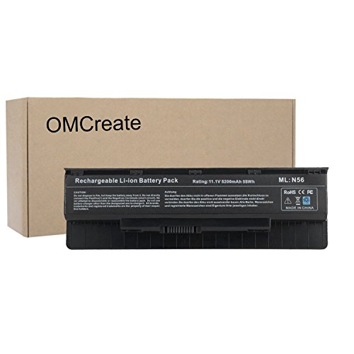 OMCreate Battery Compatible with Asus A32-N56 N56 N56V