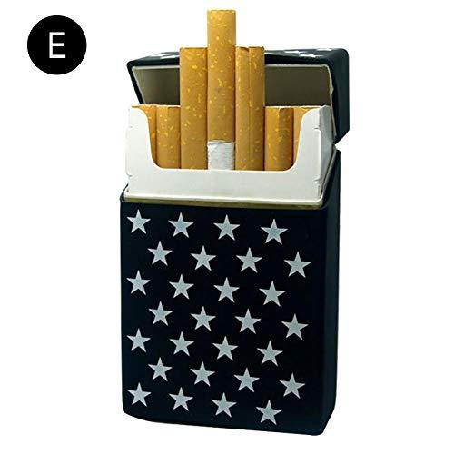 20 À Étui Les En nbsp;cigarettes ying Cigarettes Qui Homme Amis Et Fumées Silicone E Pour Box True Femme Cigarette 6wx06