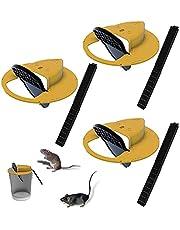 Humane Flip N' Slide Bucket Flip-Lid Reusable Mouse, Rat and Rodent Bucket Trap