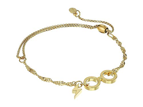 Alex and Ani Women's Harry Potter Gla ES Pull Chain Bracelet, 14kt Gold Plated ()