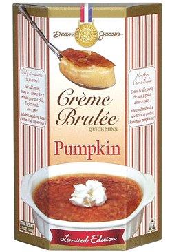 Dean Jacob's Pumpkin Crème Brulée Mix ~ 4.8 oz.