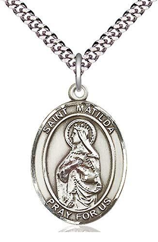 St. Matilda Medal in Fine Pewter, 1