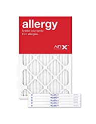 AIRx ALLERGY 16x25x1 MERV 11 Pleated Air Filter - Made in the...