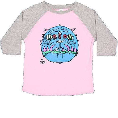 inktastic Blue Bore Toddler T-Shirt 3T Pink and Heather - Gus Fink Studios
