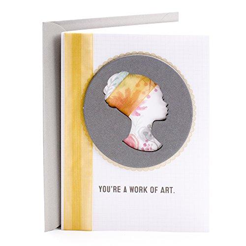 Hallmark Mahogany Birthday Greeting Card for Woman (Silhouette Cameo)