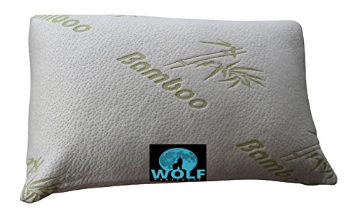 Bamboo Lover Pillow Shredded Memory Foam Cooling Pillow with
