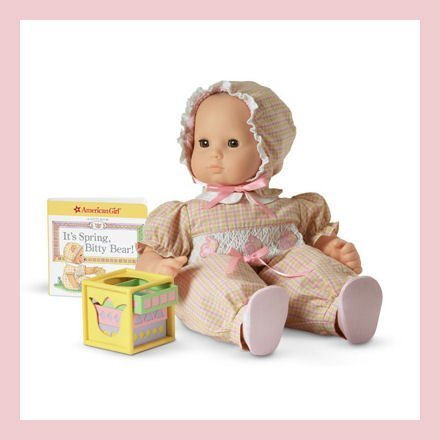 American Girl Bitty Baby Bows and Bunnies Retired Easter Set For Dolls (Doll Is Not Included)