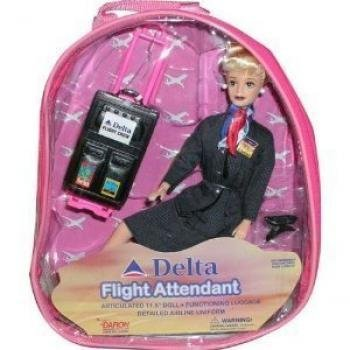 Delta Flight Attendant Airlines Flight Attendant Doll