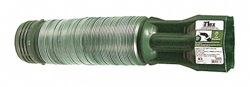 19'' to 55'' PVC Universal Downspout Extender, Green- Pack of 5 by GENOVA