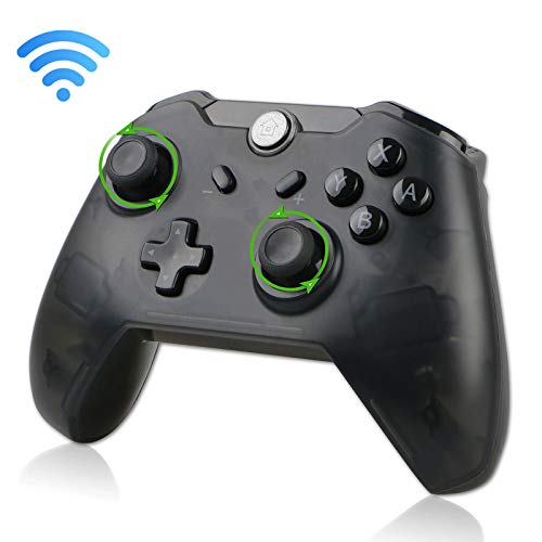 EEEKit Wireless Pro Gaming Controller Gamepad Joypad Remote for Nintendo Switch Console USB Type C Charging (Newest Version 6.0.0)