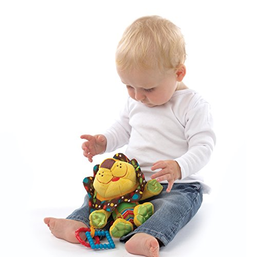 41HSHrwRFfL - Playgro 0181513 My First Activity Friend for Baby, 10 Inch, Roary Lion