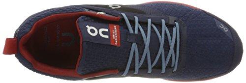 On Running Cloudcruiser Midnight / Mars M 7.5, Chaussures Compétition Homme, Bleu (Midnight / Mars), 40.5 EU
