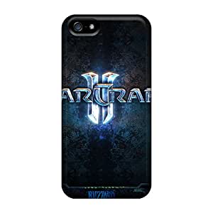 Excellent Iphone 5/5s Case Tpu Cover Back Skin Protector Star Craft 2