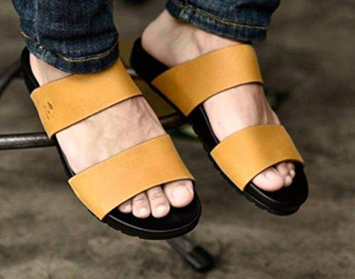 Zapatillas Sandalias Yellowbrown Zapatillas Zapatillas Hombre Hombre Verano Hombre Palabra 180x5Tqw0