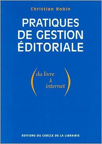 Livres gratuits Pratiques de gestion éditoriale epub, pdf