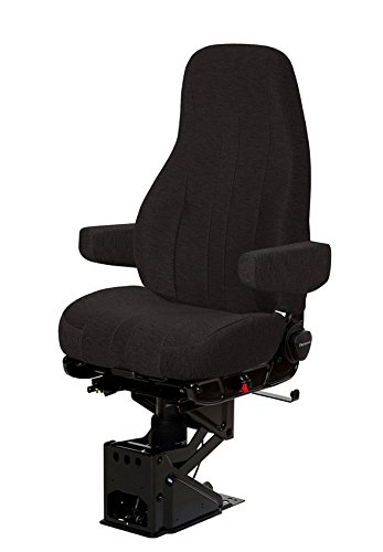- National 50764.365 - National Captain Air Ride Seat for Big Trucks - Black Cloth