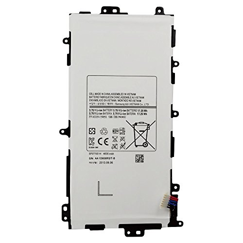 Skyvast 3.75V 17.25Wh/4600mAh Replacement SP3770E1H Tablet Battery Packs for Samsung Galaxy Note 8.0 GT-N5100 GT-N5110 GT-N5120 SGH-I467 SGH-I467ZWAATT Tablets