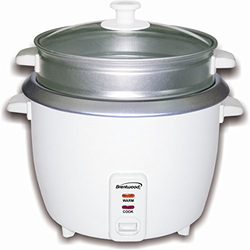 Brentwood Rice Cooker/Steamer, 4 Cups