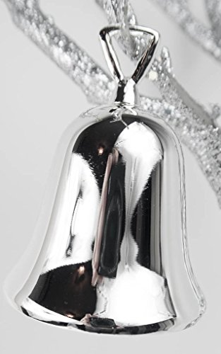 - SILVER PLATED CHRISTMAS BELL - christmas bell