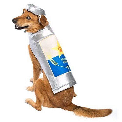 Thrills & Chills Beer Can Dog Costume~SMALL~ -