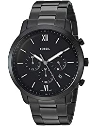 Men's 'Neutra Chrono' Quartz Stainless-Steel-Plated Casual Watch, Color:Black (Model: FS5474)