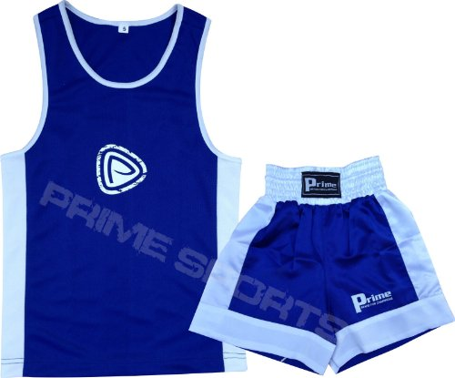 KIDS BOXING SET TOP & SHORTS 2 PCS SET HIGH QUALITY SATIN FABRIC FOR 5-12 YEAR (11-12 Years)