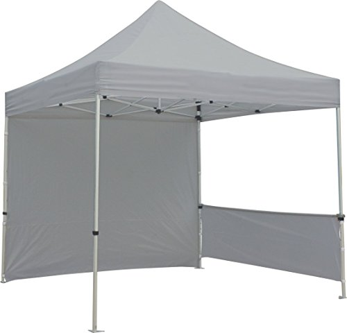 Exhibitor's Handbook TNT-3MX3M-FLL-WLL-GRY Zoom 10 Popup Tent Full Wall Only, Grey by Exhibitor's Handbook