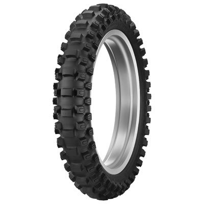 Dunlop MX33 Geomax Soft/Intermediate Terrain Tire 110/100x18 for KTM Freeride 250 R 2015-2017