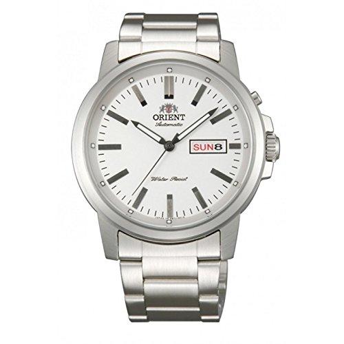 ORIENT RELOJ HOMBRE AUTOMATICO ACERO, CON CALENDARIO, SUMERGIBLE 147-FEM7J005W9: Amazon.es: Relojes