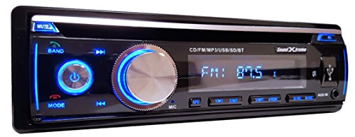 Soundxtreme St 926Bt In Dash Cd Receiver With Bluetooth And Cd Fm Usb Aux Sd