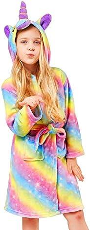 Albornoz con capucha para niña, unisex, con capucha, regalo para niñas y niños