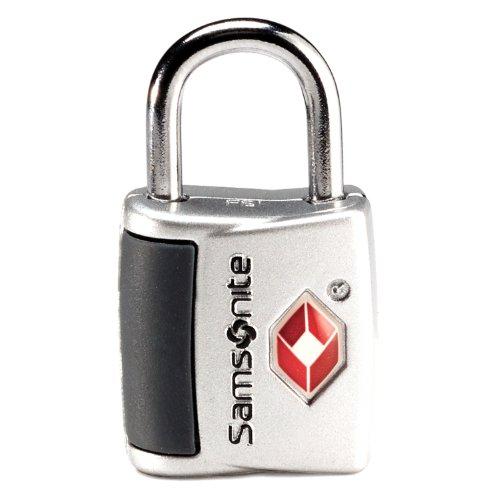 Travel Accessories Samsonite Travel Sentry Key Lock ( Set of 2) Silver, Bags Central