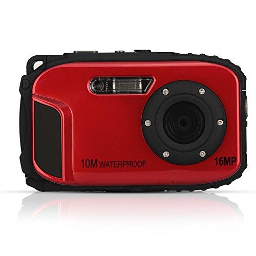 Fitiger Underwater 10m Waterproof Camera 2.7inch LCD 16MP Di