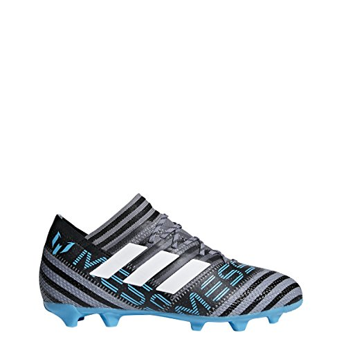 adidas JR Nemeziz Messi 17.1 FG- Grey/Black/Blue 3.5 by adidas