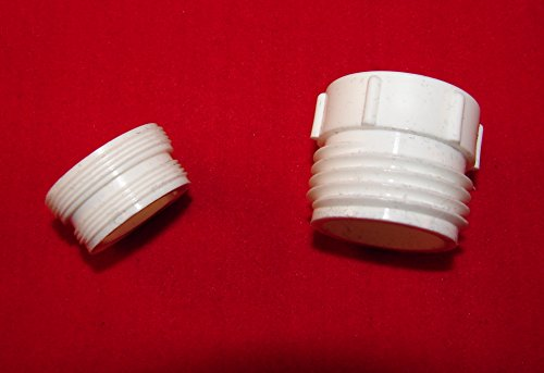 2 Piece Faucet Adapter - Also Works with Python No-Spill ...