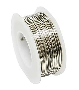 Modern Findings 18 Ga Nickel Silver Round Wire Dead Soft 50 Ft Spool