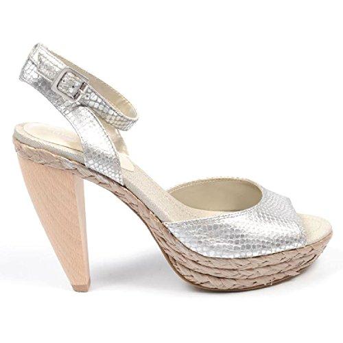 Sandal SLV Femmes Boucle Nine West Silver Nwcasting Cheville aw6PwIqY