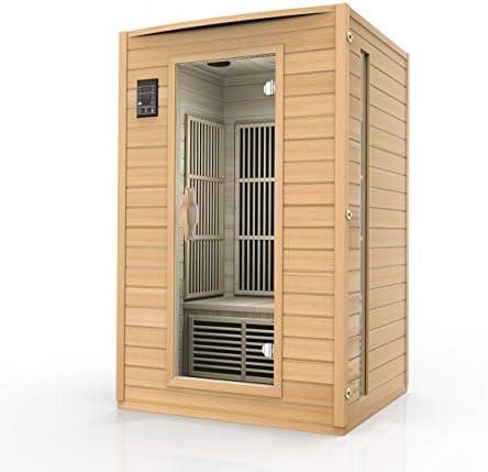 Durasage 2-Person Carbon Infrared Sauna