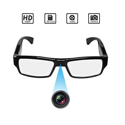 Spy Camera Glasses,1080P Spy Glasses with Hidden Camera,Mini Wearable Glasses Camera video recorder Glasses, Snapshot, USB Charger
